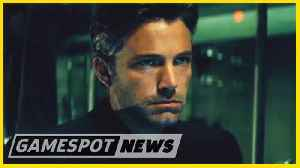 Ben Affleck Cryptically Confirms That He Won't Star In The Batman [Video]
