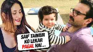 Kareena Kapoor SHOCKING REVELATION About Saif Ali Khan And Taimur [Video]