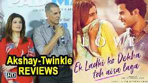 Akshay-Twinkle REVIEWS Sonam's 'Ek Ladki Ko Dekha To Aisa Laga' [Video]