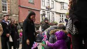 Duke and Duchess of Sussex visit Bristol's Old Vic [Video]