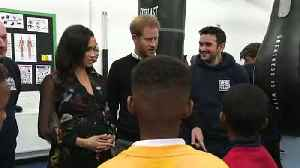 Duke and Duchess of Sussex visit Bristol boxing gym [Video]