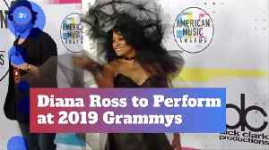 Diana Ross To Perform At Grammys [Video]