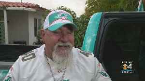 Dolfan Maniac Will Represent The Dolphins At The Big Game [Video]