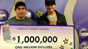 Man Gets Best Birthday Gift Ever - $1 Million Lottery Win [Video]