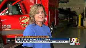 Widowed by suicide, first responders' wives help others fight PTSD [Video]