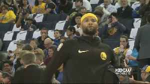 Warriors Fans Cheer DeMarcus Cousins Home Court Debut [Video]