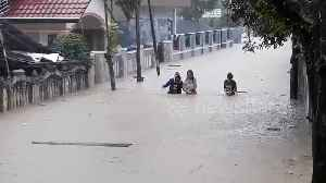 Deadly floods and landslides wreck havoc on Indonesian island [Video]