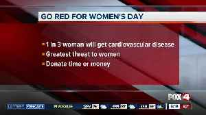 Fox 4 Morning News supports Go Red for Women's Day [Video]