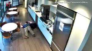 Man Caught on Camera Seemingly Faking a Fall, Accused of False Insurance Claims [Video]