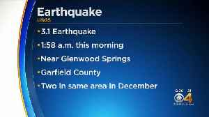 Garfield County Earthquake: 3.1 Magnitude Quake Recorded [Video]