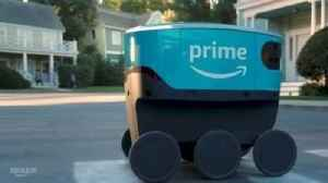 Amazon Unveils Its New Delivery Robot [Video]