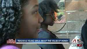 Teaching young girls about the value of money [Video]