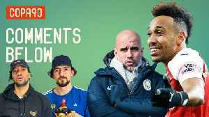Can Arsenal End Man City's Title Hopes?   Comments Below [Video]