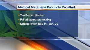 LARA: 13 marijuana products recalled from Patient Station in Ypsilanti [Video]