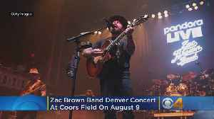 Zac Brown Band To Play Third Concert At Coors Field In Denver [Video]