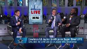 Dallas Cowboys linebacker Jaylon Smith talks about missing Pro Bowl in 2018 season [Video]