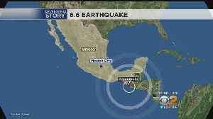 Magnitude-6.6 Earthquake Hits Southern Mexico [Video]