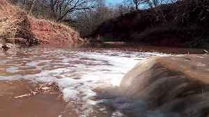 750 Barrels of Crude Oil Spills into Oklahoma Creek [Video]