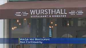 NorCal Chef Apologizes After MAGA Hat Ban, Says Policy Is To Serve All [Video]