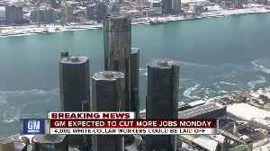 General Motors expected to cut more white-collar workers on Monday [Video]
