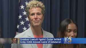 Andrea Constand Settles Defamation Lawsuit Against Prosecutor Bruce Castor [Video]