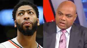 Charles Barkley's EPIC RANT Demanding The NBA BLOCK Anthony Davis Trade To Lakers! [Video]