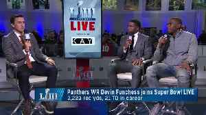 Carolina Panthers wide receiver Devin Funchess on Los Angeles Rams running back C.J. Anderson: He had 'an amazing journey' [Video]
