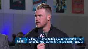 Kyle Rudolph explains why a high school connection is the reason he's rooting for Rams [Video]