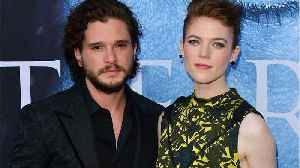 Rose Leslie stopped talking to Kit Harington for the most relatable reason ever [Video]