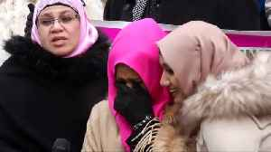 World Hijab Day celebrated on steps of New York City Hall [Video]