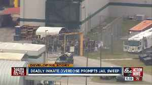 Deputies search Land O' Lakes jail for drugs after inmate found dead of suspected overdose [Video]