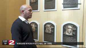 Mariano Rivera visits Baseball Hall of Fame [Video]