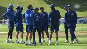 India vs New Zealand: Men in blue practice in nets ahead of final ODI [Video]