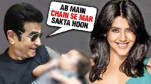 Jeetendra LAST Wish Fulfilled By Ekta Kapoor On Becoming A Mother [Video]