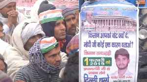 Kisan Protest : Farmers hold protest against Modi Government at DND flyway in Noida   Oneindia News [Video]