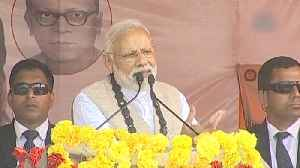 Huge crowd at rally shows why Mamata resorted to violence: PM Modi [Video]