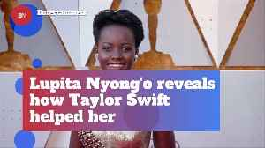 Lupita Nyong'o Was Strengthened By Taylor Swift Music [Video]