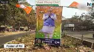 Mamta-Modi poster war in West Bengal ahead of PM Modi' rally [Video]