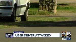 Uber driver attacked, throat slit by passenger in Tolleson [Video]