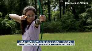 Girls can now join a new Boy Scouts of America program [Video]