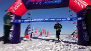 Runners kick off world marathon in the Antarctic [Video]