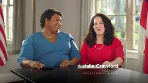"""Stacy Abrams """"voter suppression"""" ad [Video]"""