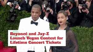 Will You Enter The Beyonce And Jay-Z Vegan Contest? [Video]