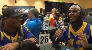 Rams' John Kelly, Micah Kiser Dish On Their Super Bowl Week Experience [Video]