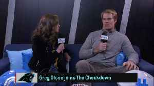 Carolina Panthers tight end Greg Olsen teases what's next after football [Video]