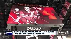 Red Wings to retire Red Kelly's number 4 in pregame ceremony [Video]