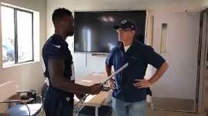 Los Angeles Rams' Brandin Cooks Surprises Team Custodian With Super Bowl Tickets [Video]