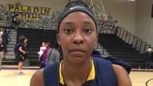 Aquinas' Samara Spencer looks forward to playing Dillard for second time in a week [Video]