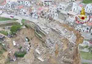 Firefighters Use Drone to Survey Damage Caused by Italy Landslide [Video]