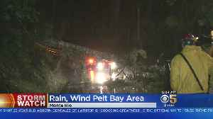 Huge Storm Pummels Bay Area With High Winds And Heavy Rain [Video]